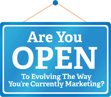 open for business - retail marketing